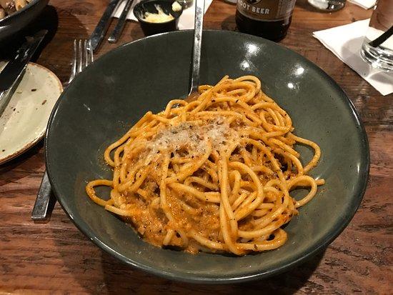 โอแคลร์, วิสคอนซิน: Spaghetti with Bolognese Sauce