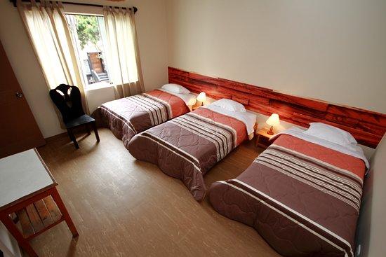 Eurobackpackers Hostel: Habitacion triple