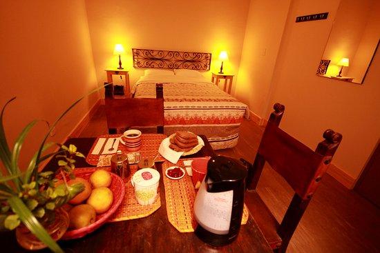 Eurobackpackers Hostel: Habitacion matrimonial