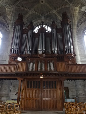 Peronne, Francia: Le grand orgue