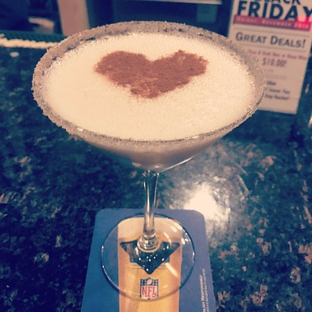 Rehoboth, Μασαχουσέτη: Try our delicious Cinnamon Toast Crunch martini!