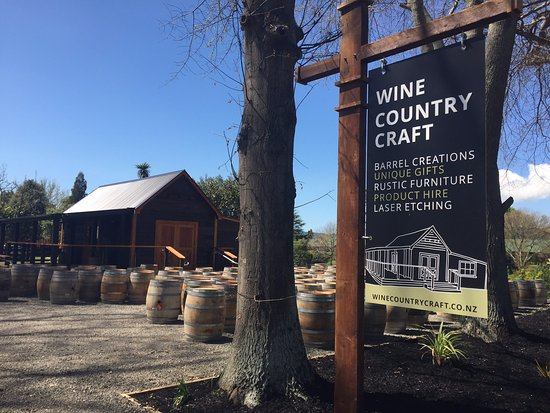 Havelock North, Nueva Zelanda: The entrance to Wine Country Craft.