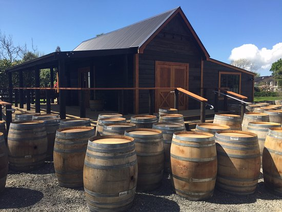 Wine Country Craft: After a delivery of wine barrels.