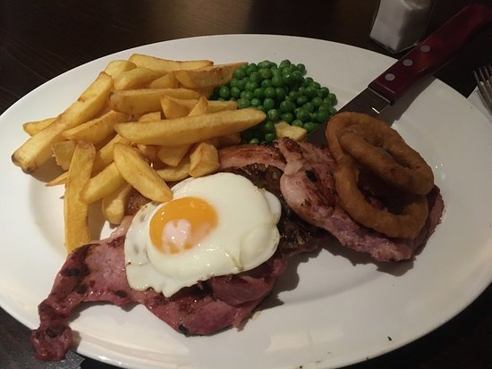 Bamber Bridge, UK: Fantastic food at The Hungry Horse