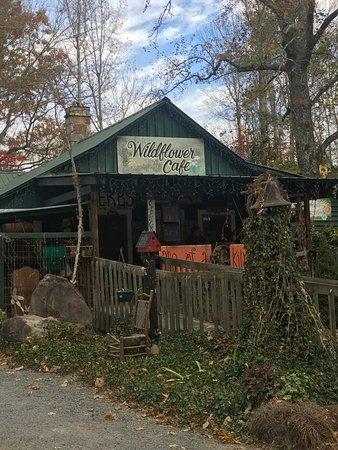 Mentone, AL: Wildflower Cafe