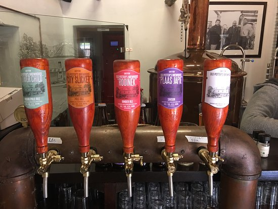 Greyton, Sudáfrica: Beer!