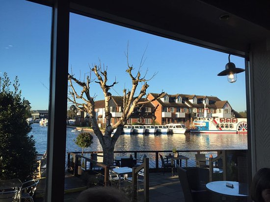 Wroxham, UK: View from Bar