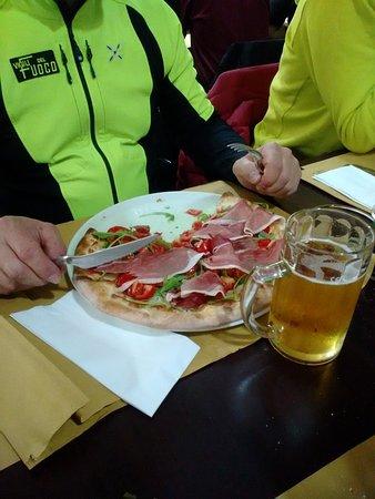 Camerino, Italia: Il ristorante dei Vigili del fuoco