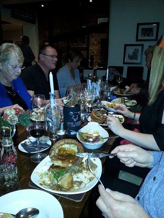 Semington, UK: Roast Beef - very popular