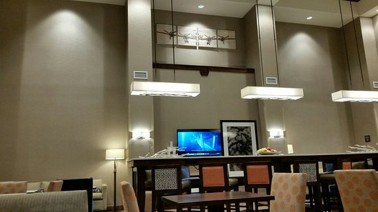 แวนคูเวอร์, วอชิงตัน: Breakfast-lobby room