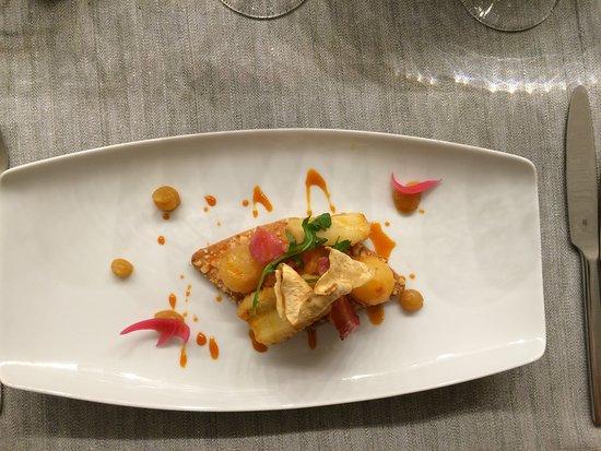 Gargas, Frankrike: tartine de légumes d'automne
