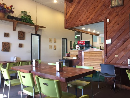 Commerce, CA: interior of Elm Tree Sandwich Shop