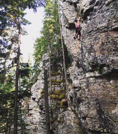 Revelstoke, Canadá: Great views and company