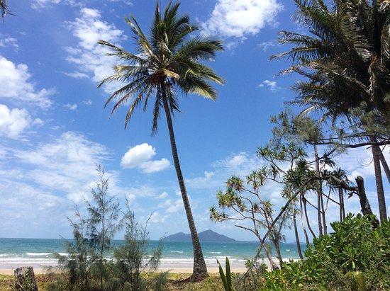 Mission Beach...with Dunk Island in background