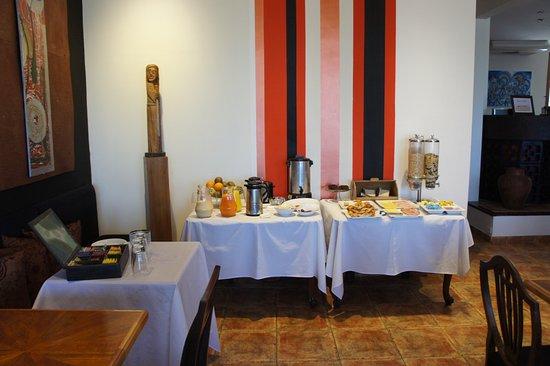Los Muelles Boutique Hotel: café da manhã