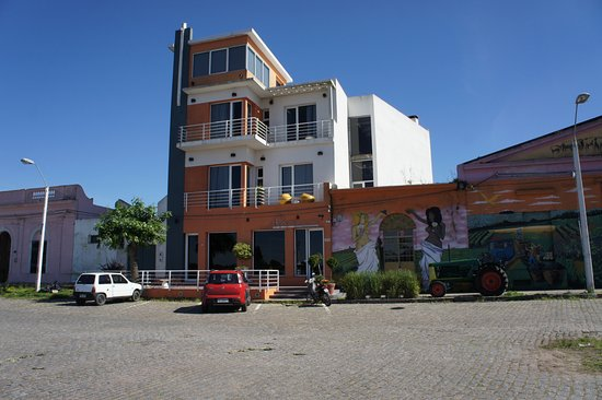 Los Muelles Boutique Hotel: frente do hotel