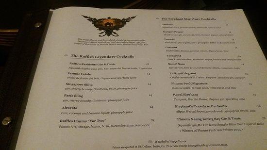 Raffles Hotel Le Royal: 20161118_181128_large.jpg
