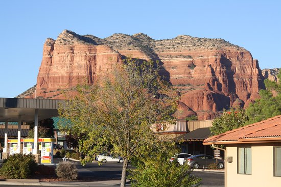 The Views Inn Sedona: View from room 216 looking north