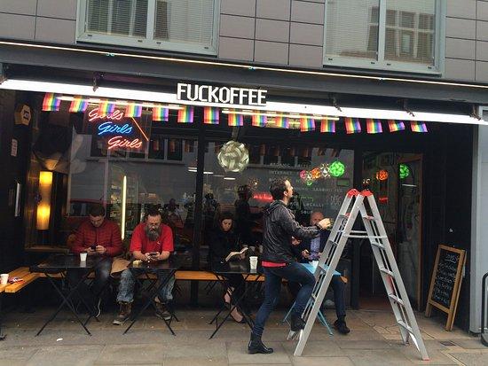 Photo of Cafe Fuckoffee at 163 - 167 Bermondsey St, London, United Kingdom