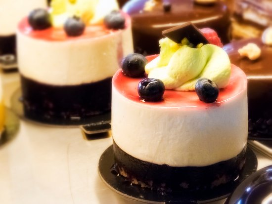 Coustellet, France: Cheesecake