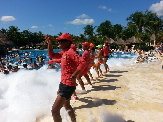 Valentin Imperial Riviera Maya: Foam Party Only On Sunday