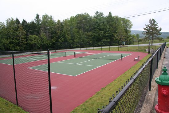 Brownsville, VT: one of 2 sets of courts