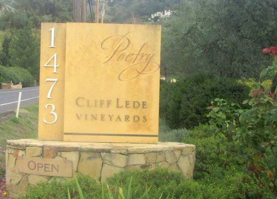 Poetry, Cliff Lede Vineyards, Yountville, Ca