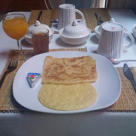 Riad Aderbaz: breakfast