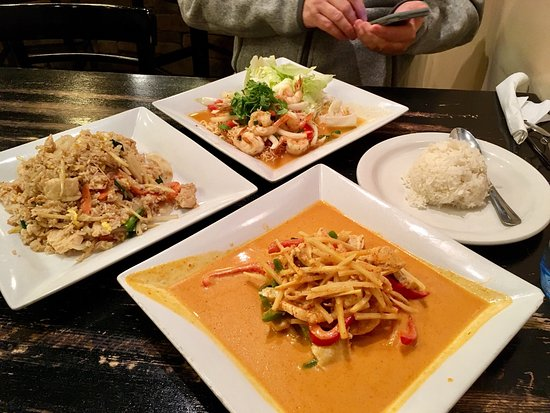 Picture of aroy thai cuisine o 39 fallon for Aroy thai cuisine menu