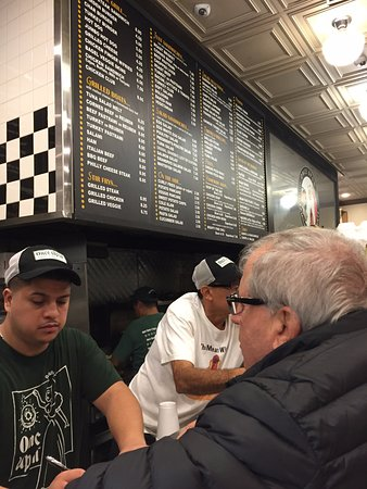 Highland Park, IL: Order at the counter and then take a number and sit down.  Lots of tasty choices.