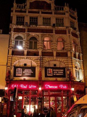 old red lion theatre lohnt es sich aktuelle 2018