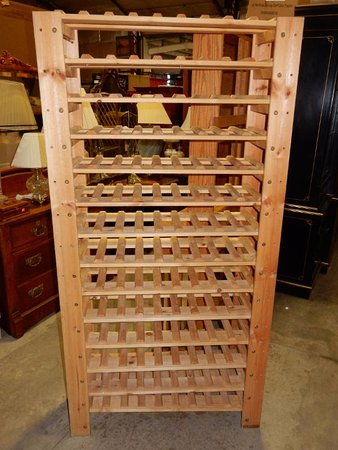 Bethlehem, CT: Wine Rack