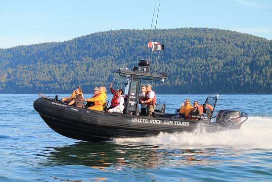 White Rock, Kanada: Our boats are fun and safe!