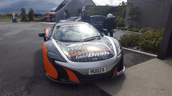 Cromwell, New Zealand: Ride Along McLaren