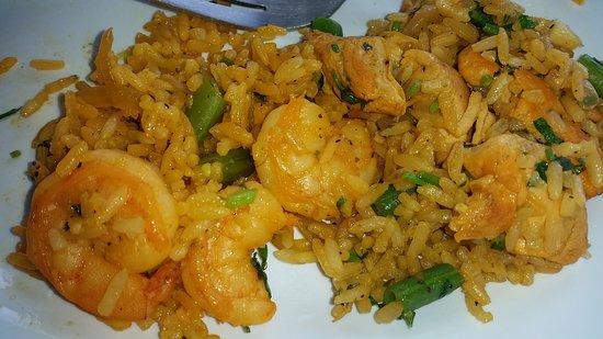 "El Castillo, Costa Rica: ""Do you want rice with shrimp or shrimp with rice? Shrimp with rice of course!"""