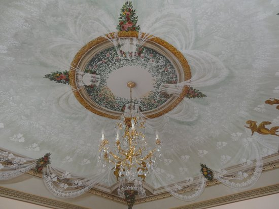Piegaro, Italien: Ceiling in our room