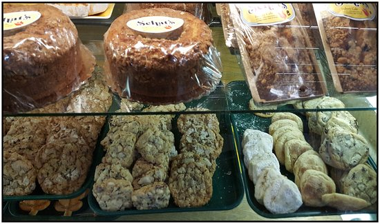 Ukiah, Kaliforniya: Bakery goods.