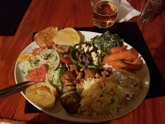 Napolitana: Vegetarian Platter