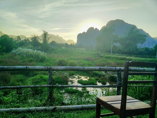 Keosimoon guesthouse updated 2017 reviews price for Domon guesthouse vang vieng