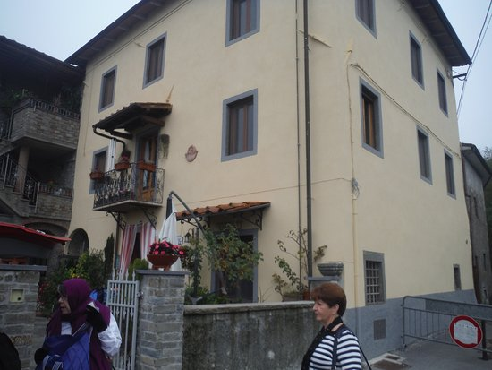 Ghivizzano, Italy: Exterior of Casa La Pace