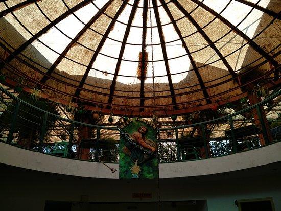 Parklane Hotel Restaurant: Beer garden in top floor