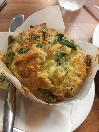 Metricup, Australië: Savoury muffin ... excellent!!