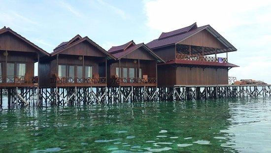 Derawan Islands, Indonesia: Scuba Junkie Sangalaki - Water Bungalows