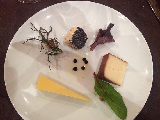 Rouffignac-Saint-Cernin-de-Reilhac, Франция: l'assiette de fromages