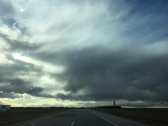Burns, WY: I-80