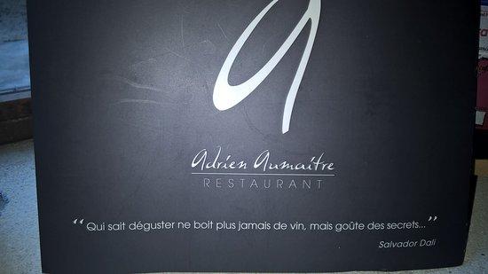 Carpentras, Francia: Carte des vins