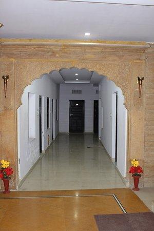 Reception area - Picture of Hotel Kotwal Haveli Jaisalmer