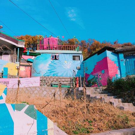 Jaman mural village jeonju south korea top tips before for Mural village