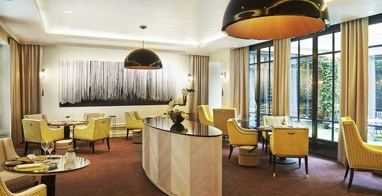Hotel Le Burgundy: Restaurant Le Baudelaire