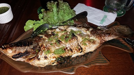 Gullivers: whole grilled fish